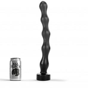 ALL BLACK Anal Chain AB70, Vinyl, Black, 41,5 cm (16 in)