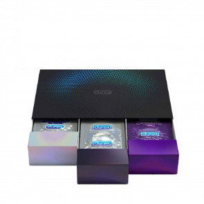 "Durex ""Surprise Me"" Deluxe Condoms, 30-Pack Black Box"