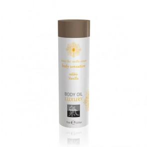 SHIATSU Body Sensation, Body Oil Luxury, Edible Vanilla, 75 ml (2,5 fl.oz.)