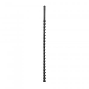 Rippled Silicone Sound, Dilator, Dilatator / Diameter 8-10mm / Length 24cm